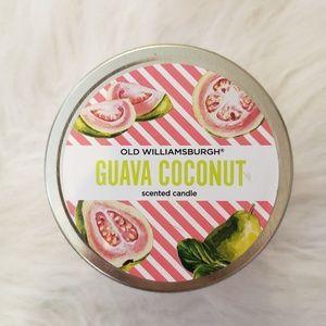 3/$20 Guava Coconut Old Williamsburg Candle